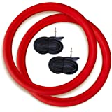 Tannus Armour Tire Inserts, 2 No Flat Bicycle Tire Inserts with 2 Tubes | Puncture Proof Bike Tube Protector, Stops…