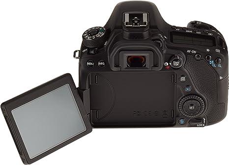 Canon EOS 80D 24.2MP CMOS 6000 x 4000Pixeles Negro: Amazon.es ...