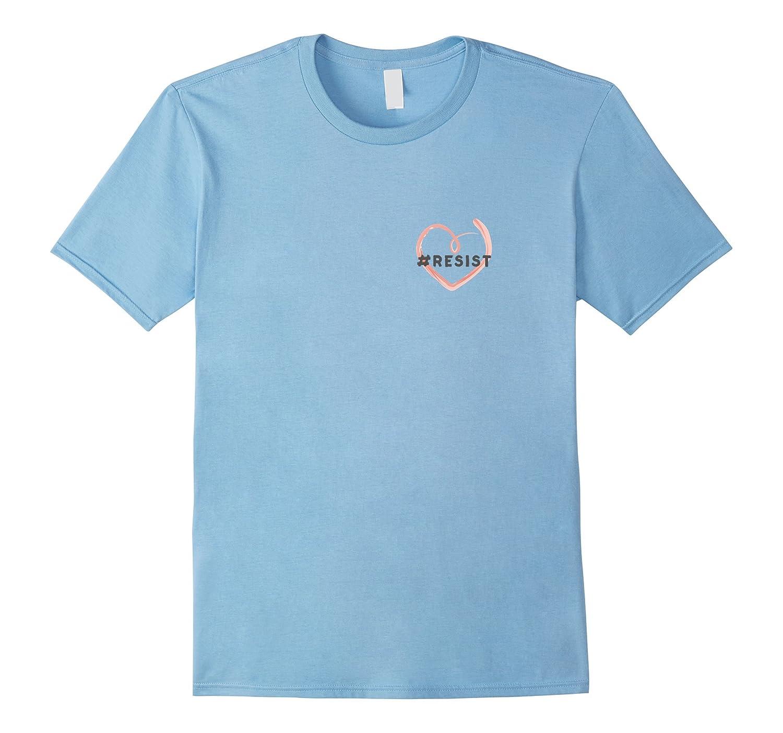 #resist Heart T-Shirt-ANZ