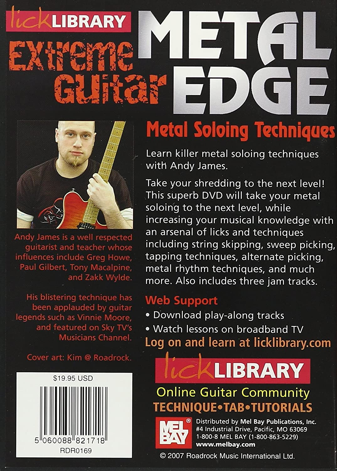 Lick library metal soloing