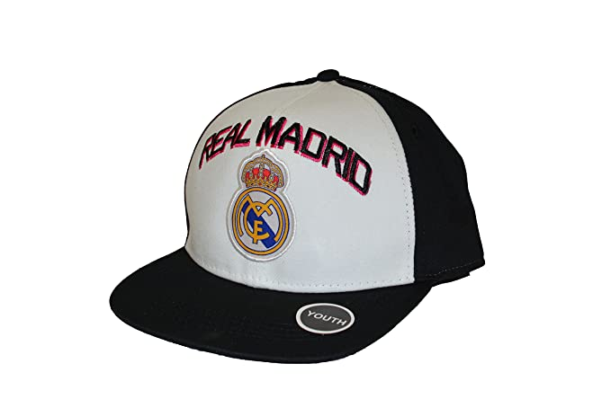 Amazon.com  Real Madrid Fc Club Snapback Youth Kids Adjustable CAP ... a6153797f08