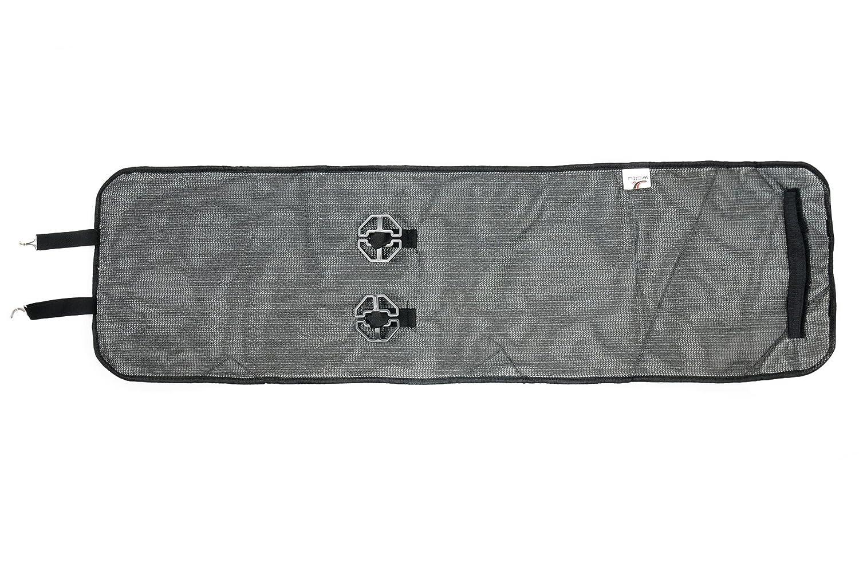 ca Schwarz WOLTU AS7337sz-2 Lammfellbezug Auto Sitzbezug Echtlammfell Vollbezug Vordersitzbezug universal Gr/ö/ße 2er Set 1.8 cm Dicke Feste Wolle 115x33cm