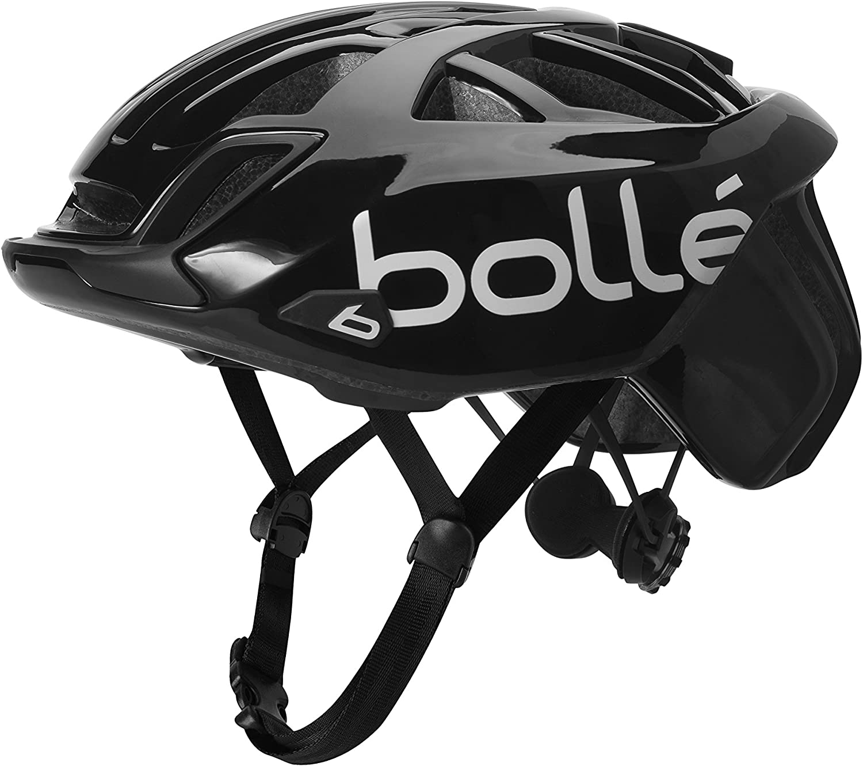 Bolle Trackdown Cycling Helmet Black Unisex-Adult 54-58cm