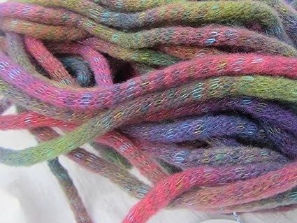 Amazon Knitting Fever Riviera Yarn Super Bulky Wool Variegated