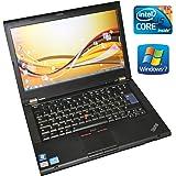 Lenovo ThinkPad T420 35,6 Cm (14 Zoll) Notebook (Intel Core i5 i5-2520M 2,5GHz, 4GB Ram,500GB HDD 1600x900 HD, Windows 7 Professional) (Zertifiziert und Generalüberholt)