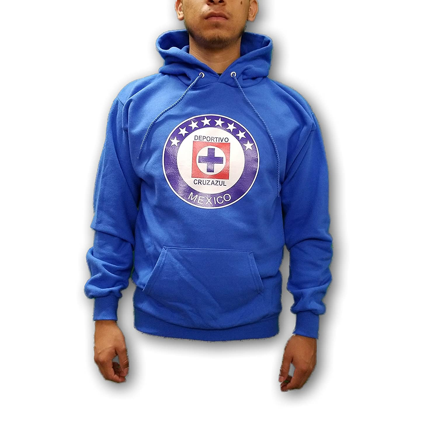 Amazon.com: ESF Cruz Azul FC La Maquina Mens Pullover Hoodie Sweatshirt: Clothing