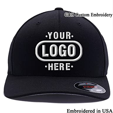 095164e674e Amazon.com  Yupoong Custom Hat Flexfit 6277. Embroidered. Place Your ...