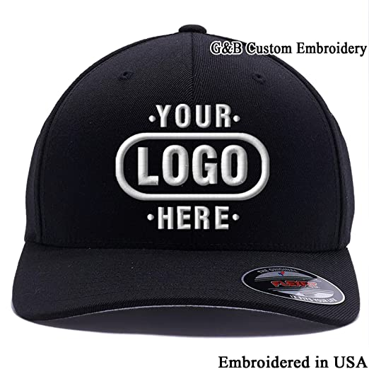 cb7033dc361 Amazon.com  Yupoong Custom Hat Flexfit 6277. Embroidered. Place Your ...