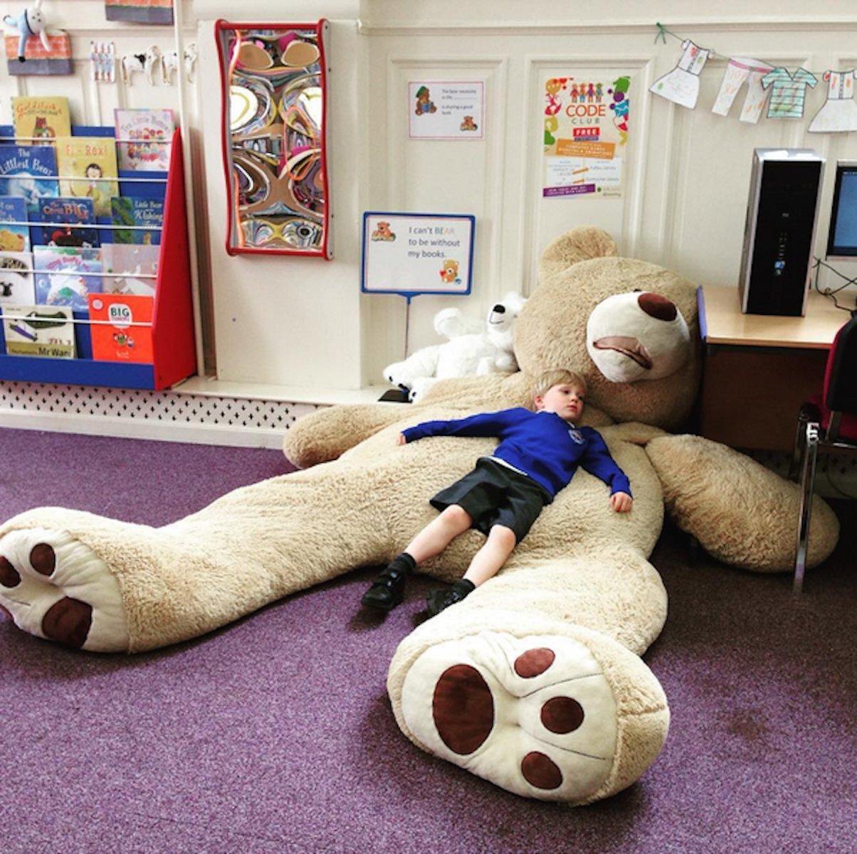 Banabear Lerosier Nounours Peluche géants de 130 à 340 cm !! Teddy Bear Ourson Ours Immense (130 cm)
