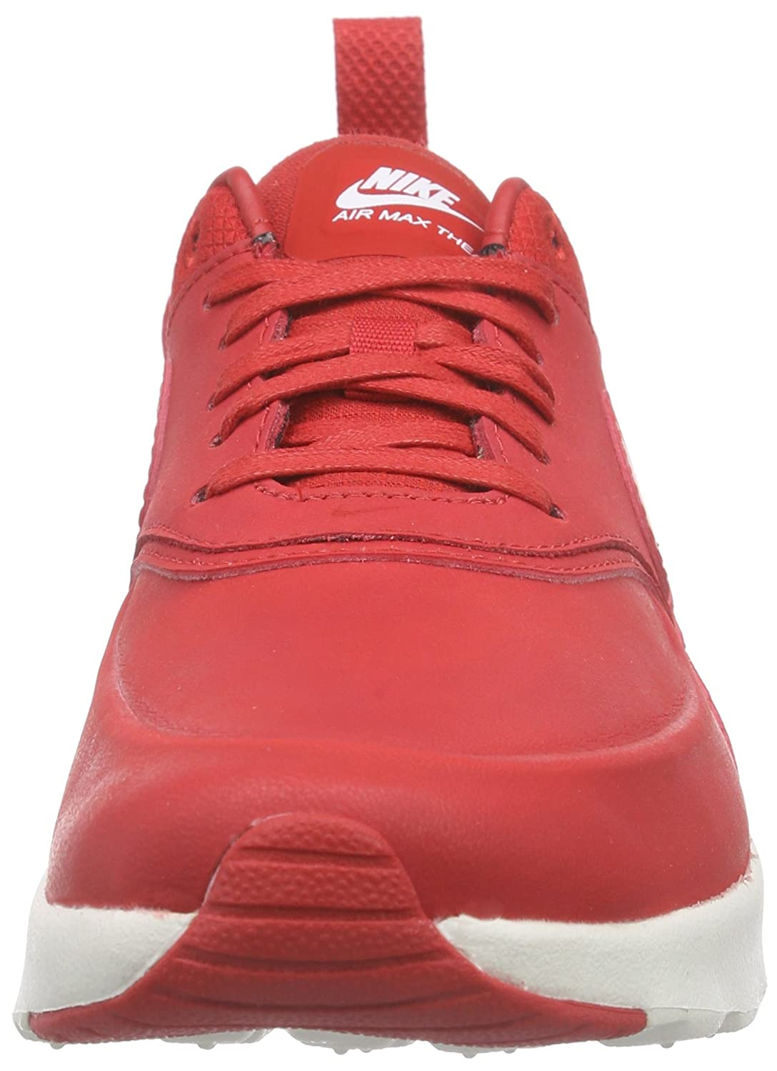 new product 08321 a0f7d Amazon.com   Nike Women  s Air Max Thea Low-Top Sneakers, University Red  Sail White, 4 UK   Road Running