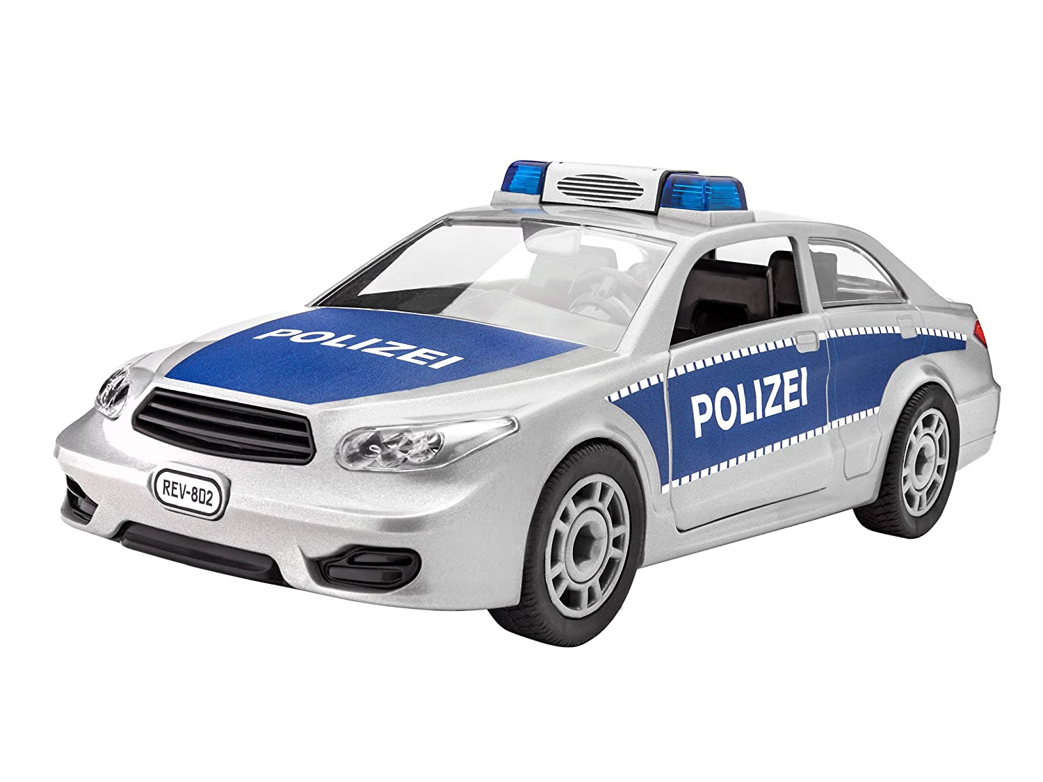 Amazon com: Revell 00802 Junior Kit Police Car Toy: Toys & Games