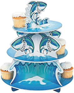 JAWSOME SHARK CUPCAKE HOLDER - Party Supplies - 1 Piece
