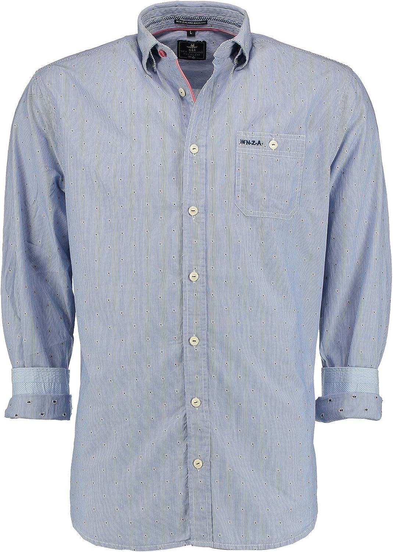 New Zealand Auckland camisas – Camisa Rayas Bordada: Amazon ...