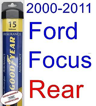 2000 – 2011 Ford Focus hoja de limpiaparabrisas de repuesto Set/Kit (Goodyear limpiaparabrisas