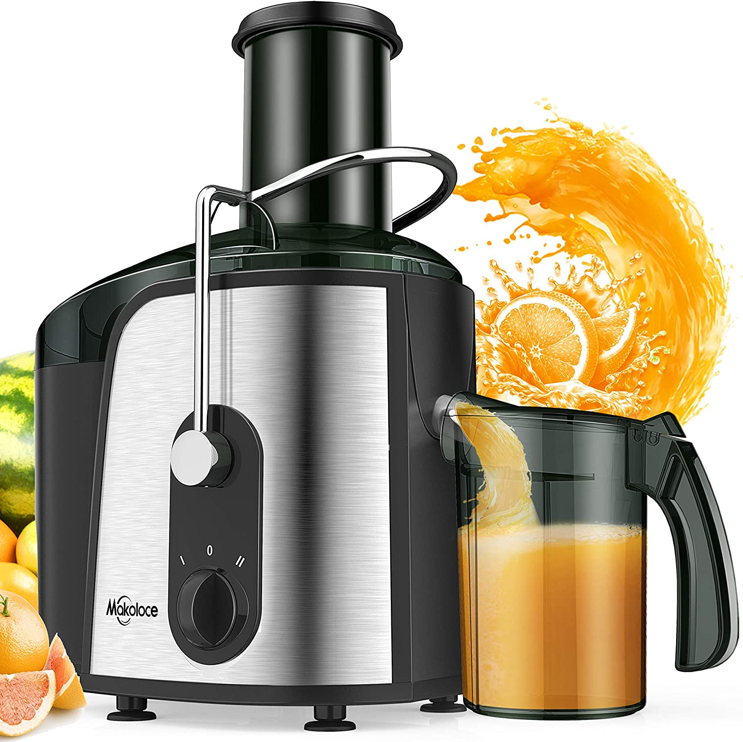 Juice Extractor, 1200W Juicer Machines 3
