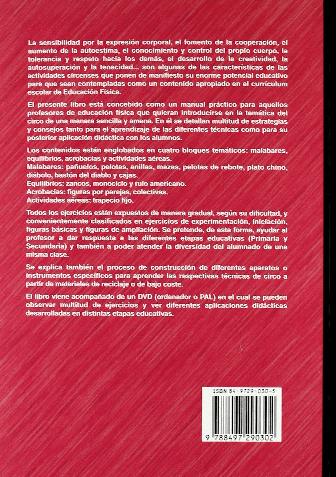 Circo y educación física : otra forma de aprender: Varios: 9788497290302: Amazon.com: Books