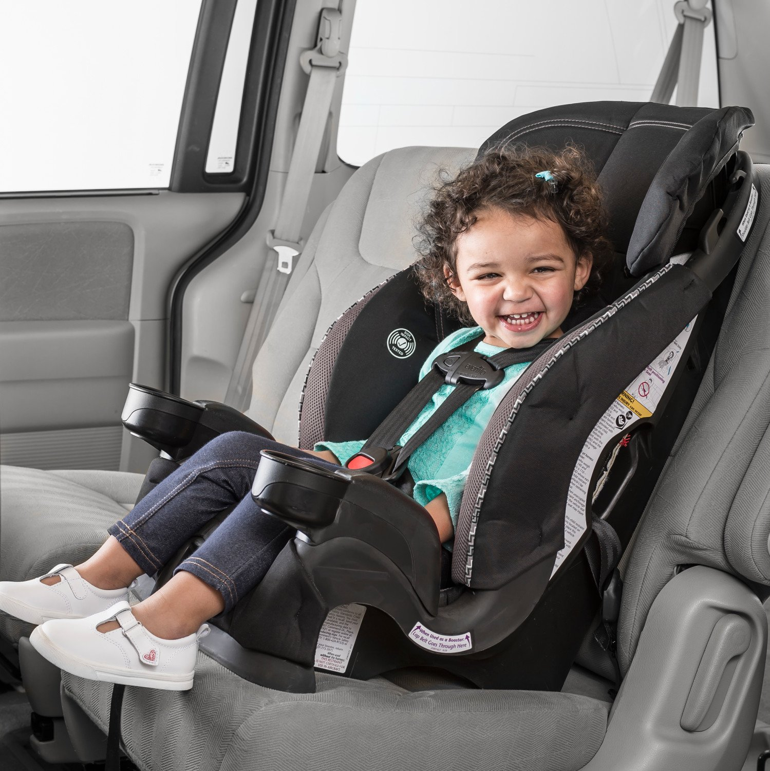 Evenflo Chase Sport Harnessed Booster Car Seat Jayden Baby Travel ...