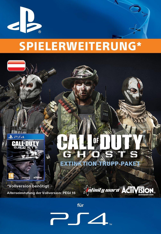Call of Duty: Ghosts - Trupp-Paket - Extinktion - PS3 [Zusatzinhalt] [PS3 PSN Code für deutsches Konto]