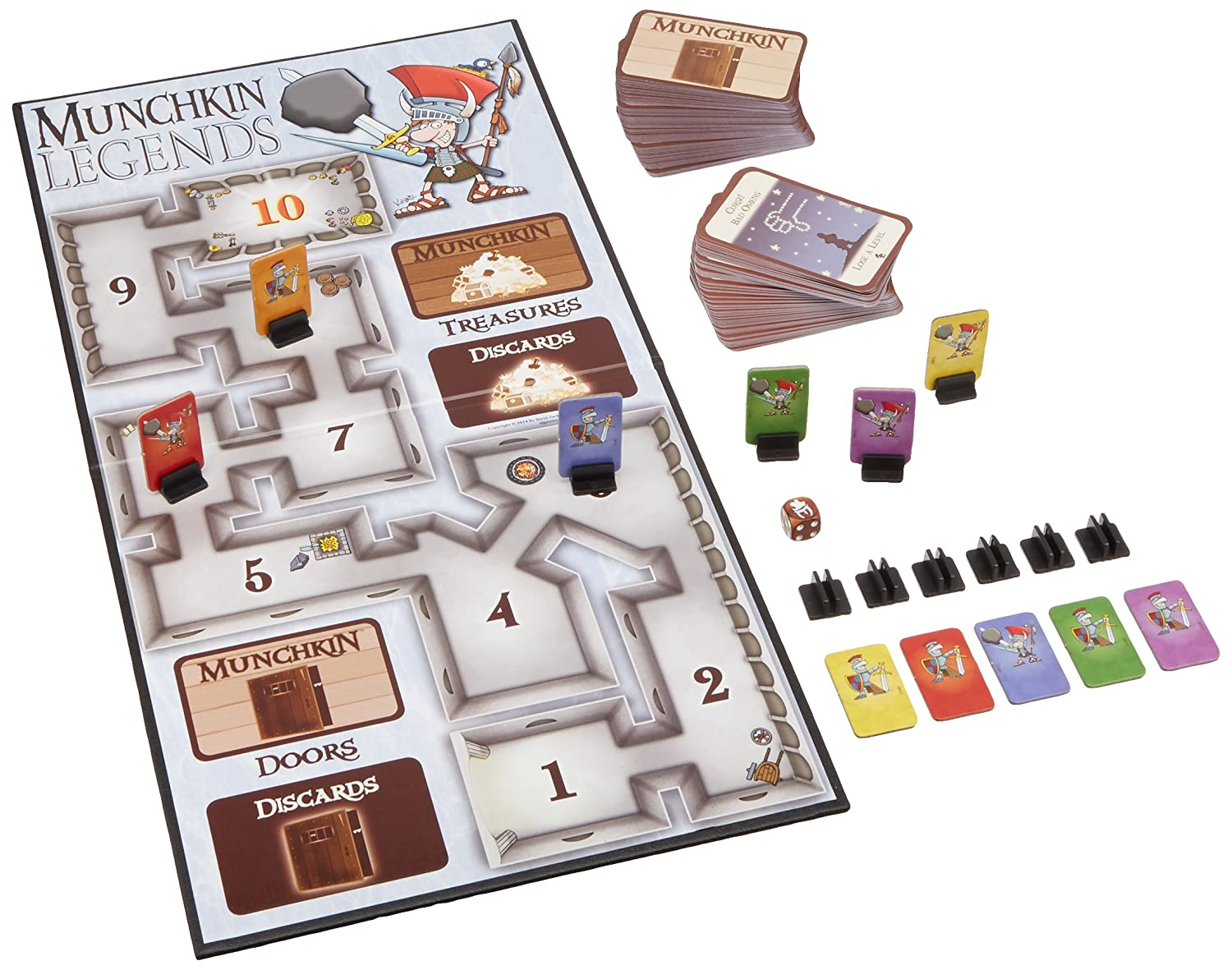 Amazon.com: Munchkin Legends Deluxe: Toys & Games