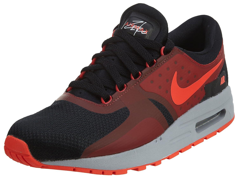 Alta calidad Nike Niños Air Max Zero Essential GS Zapatos para correr Negro/Bright Crimson 303WG