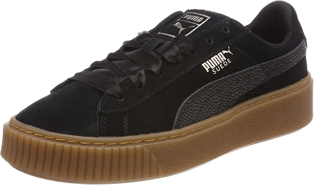 714ae44f Women's's Suede Platform Bubble WN's Trainers