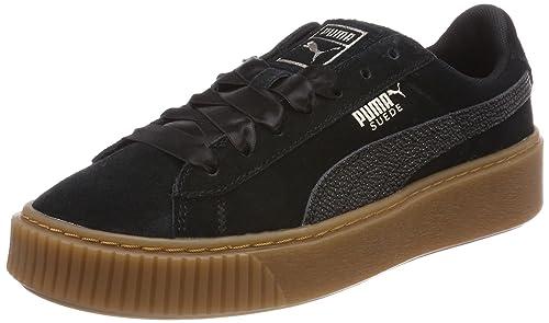 PUMA Shoes Suede Platform Bubble Wn´s Black 38  Amazon.com.au  Fashion 8b3ef0961