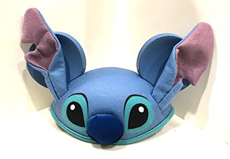 15bdfb47c57 Image Unavailable. Image not available for. Color  Disney Parks Stitch  Mickey Mouse Ears Hat ...