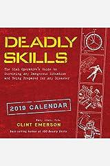 Deadly Skills 2019 Wall Calendar Calendar