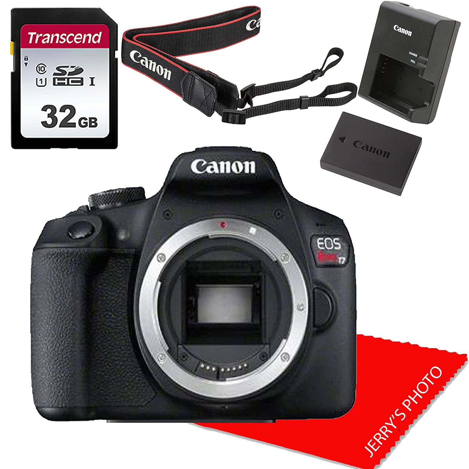 Amazon Com Canon Eos Rebel T7 Dslr Camera Body No Lens