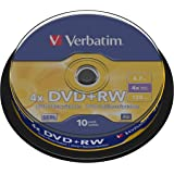 DVD+RW 4.7GB 4X SPINDLEX10 SUPL4X SPEED 10PK