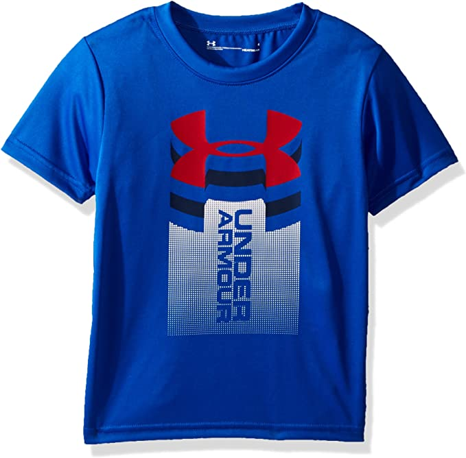 Under Armour Young Boys/' Long Sleeve Tech Big Logo//Graphic Shirt MSRP $29.99