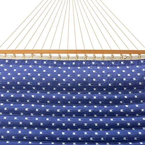 Castaway Hammocks Large 13 ft. Polyester Pillowtop Hammock, Dash Weave