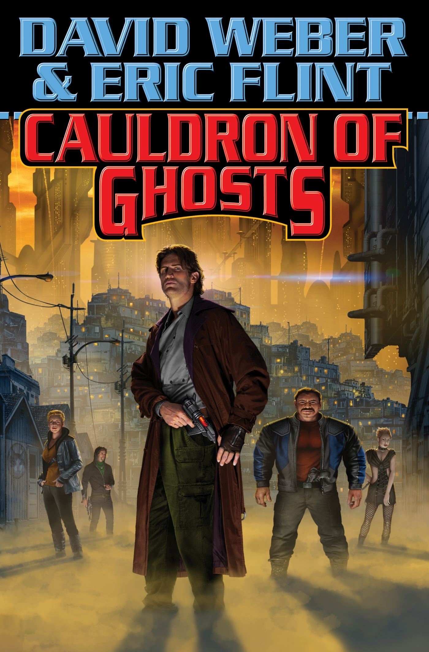 Cauldron Of Ghosts (crown Of Slaves): David Weber, Eric Flint:  9781476736334: Amazon: Books