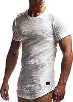 LEIF NELSON Herren oversize T-Shirt Sweatshirt Hoodie Hoody LN6324