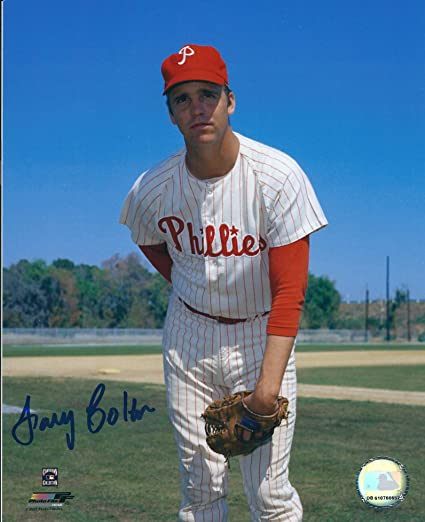 b1cf848d Amazon.com: Autographed Larry Colton 8x10 Philadelphia Phillies ...