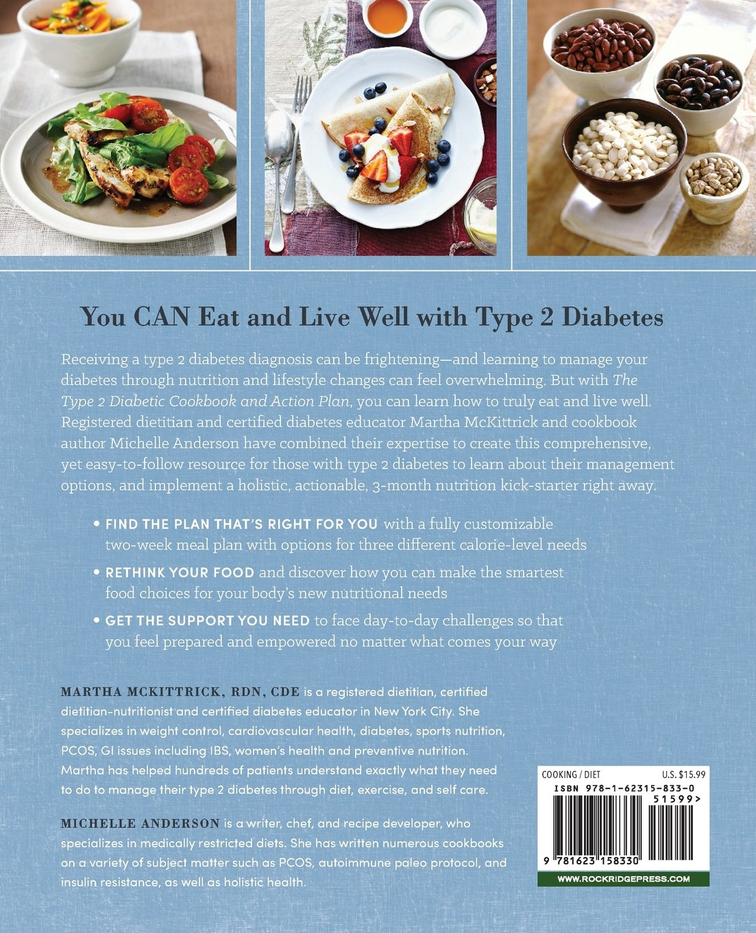 The Type 2 Diabetic Cookbook & Action Plan: A Three-Month Kickstart ...