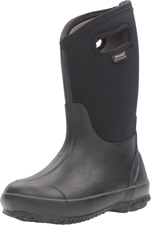Winter Boys Girls Plus Size Winter Kids Waterproof Boots Snow Boots 3 Color MOON