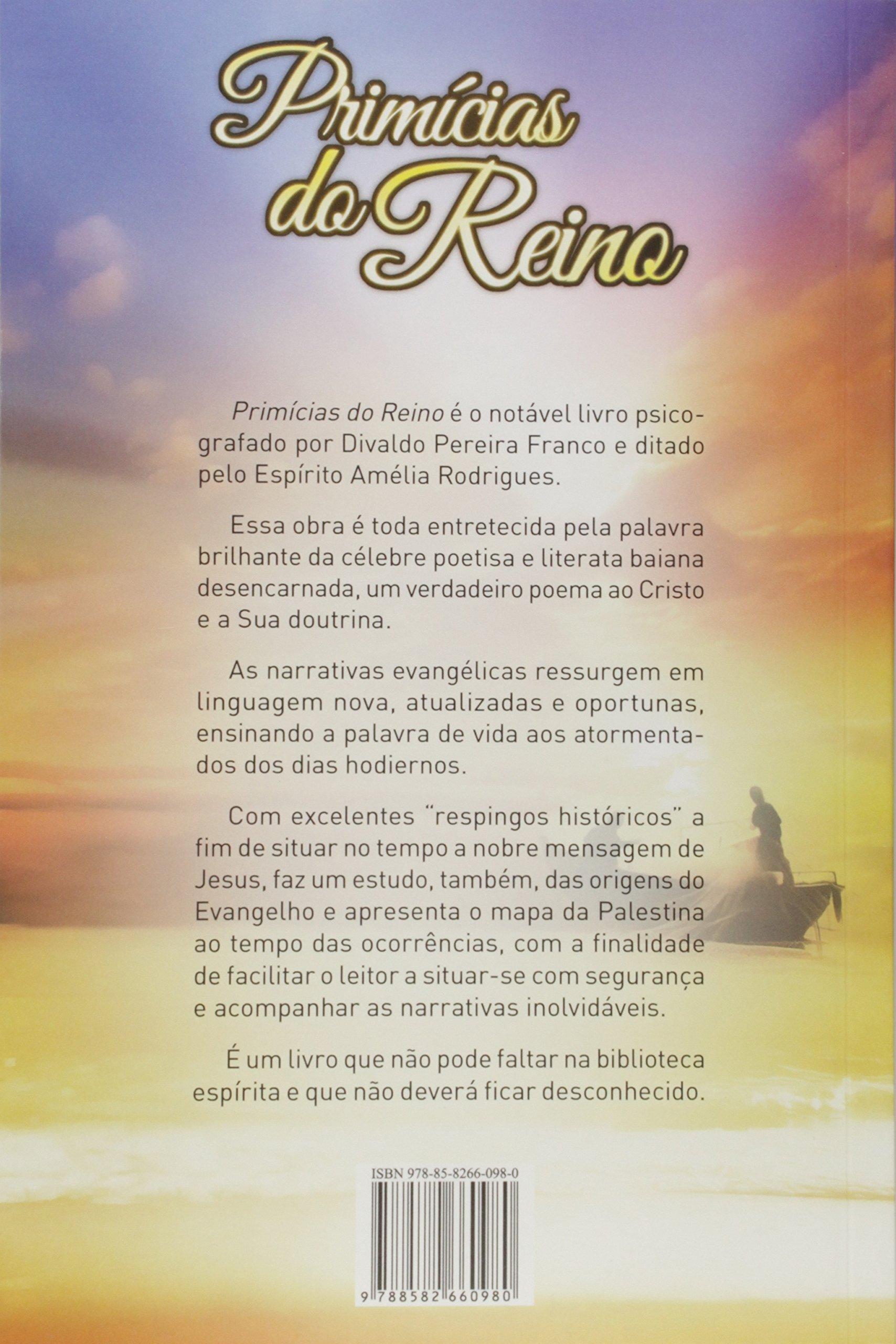 Primícias do Reino (Portuguese Edition): Divaldo Pereira ...