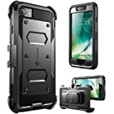 i-Blason Armorbox Case Designed for iPhone SE2 2020 /iPhone 7/iPhone 8, Built in [Screen Protector] Full-Body Rugged Holster
