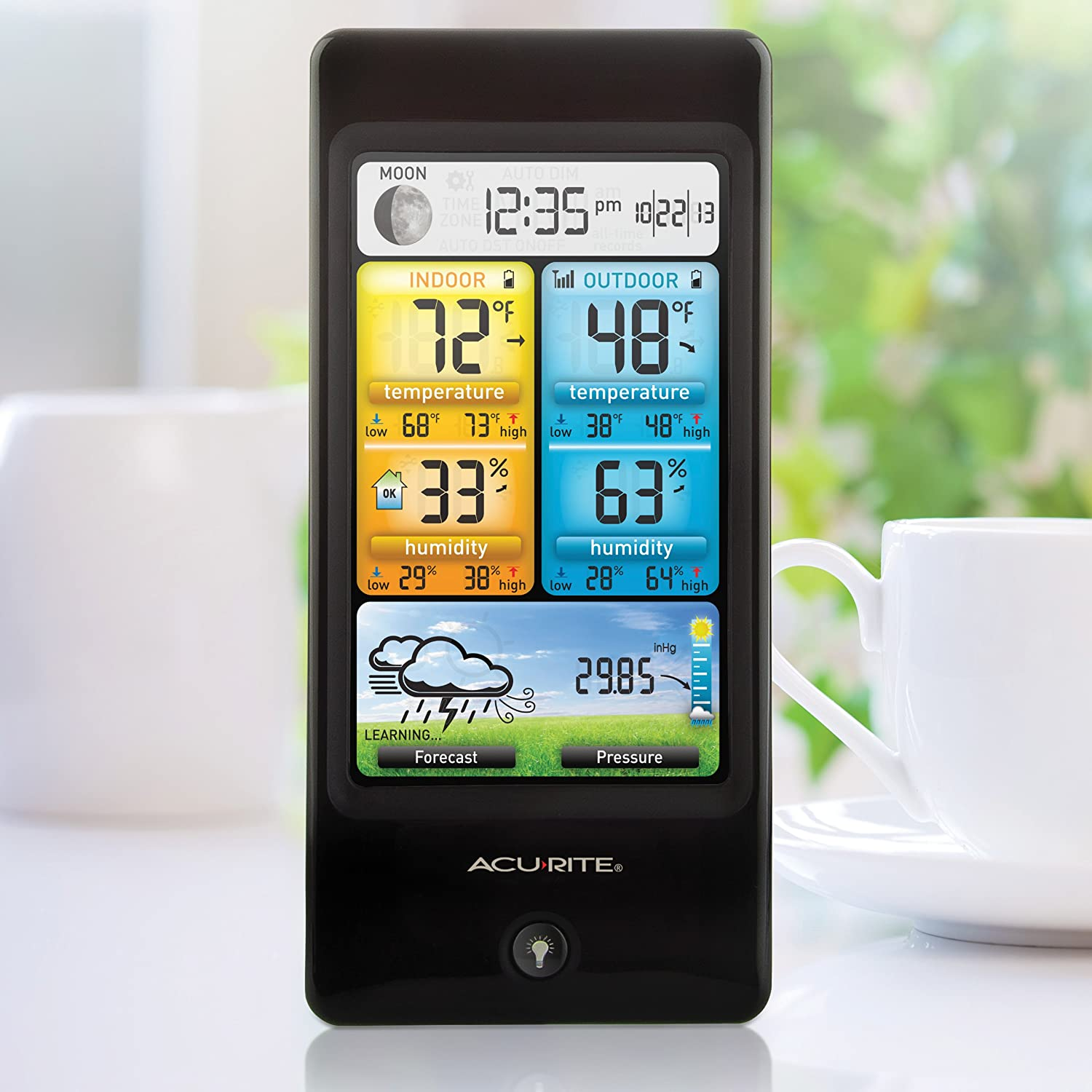 amazon com acurite 02016 color weather station with forecast