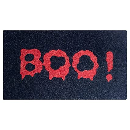 Halloween Boo Door Mat