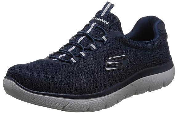 Skechers Summits Sneakers in Übergrößen Blau 52811NVY große Herrenschuhe