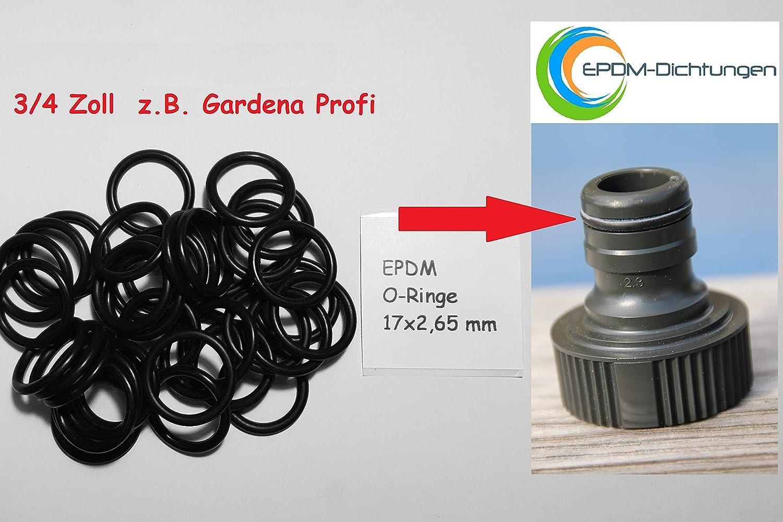 """Dichtungen passend für alle 1//2/"""" Schlauchsysteme wie z.B Gardena 50x O-Ringe"""