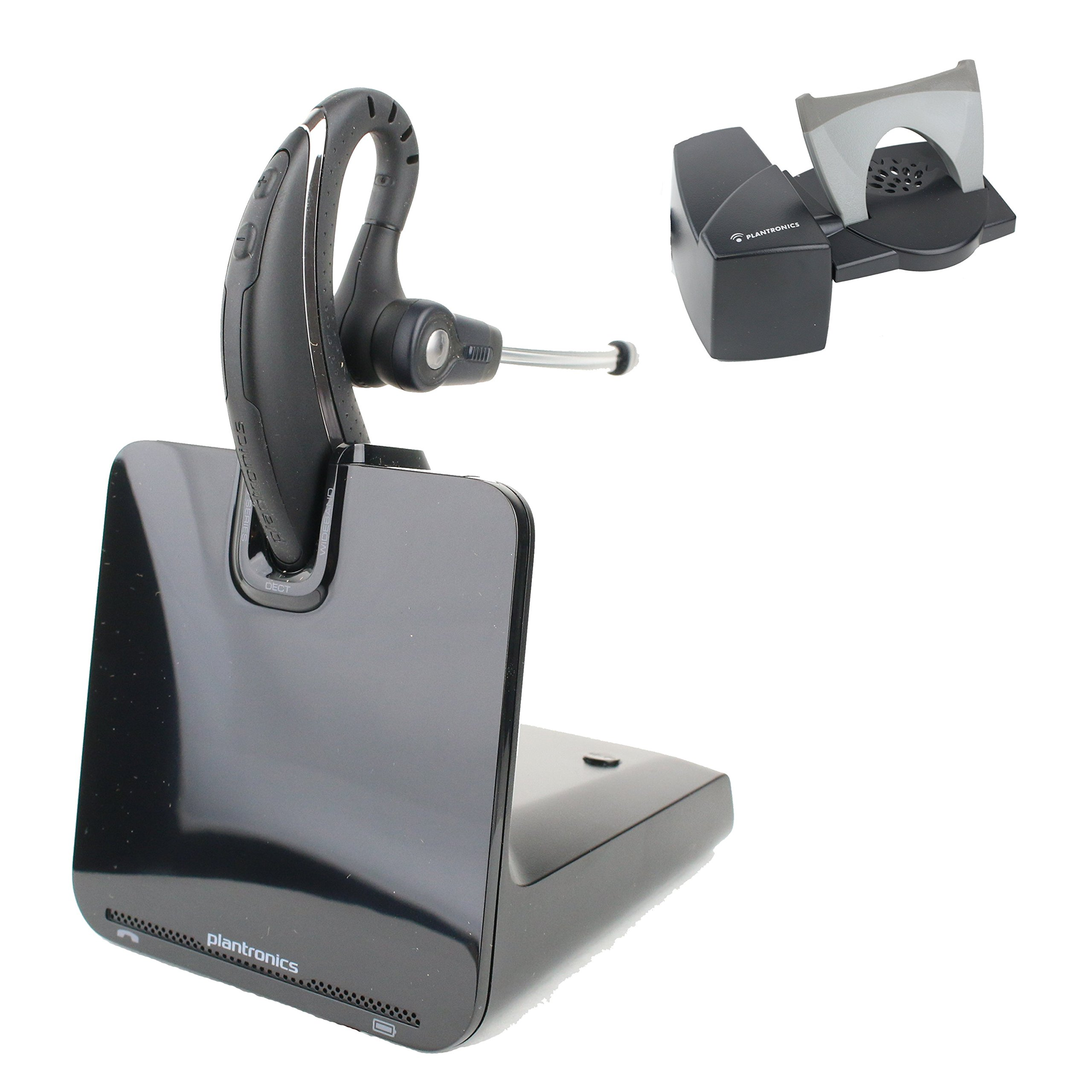 Plantronics CS530 Office Wireless Headset With HL10 Handset Lifter (Certified Refurbished)