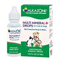 Alkazone Alkaline Multi Mineral Drops for Cats and Dogs - Animals are Naturally...
