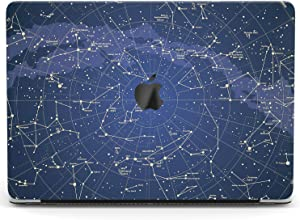 Wonder Wild Case for MacBook Air 13 inch Pro 15 2019 2018 Retina 12 11 Apple Hard Mac Protective Cover Touch Bar 2017 2016 2020 Plastic Laptop Print Celestial Map Constellation Blue Night Sky Pattern