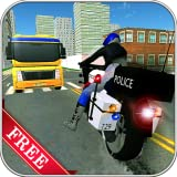 quad games for free - Police Bike Racer Robbers Chase Simulator 3D