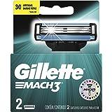 Carga para Aparelho de Barbear Gillette Mach3 - 2 unidades