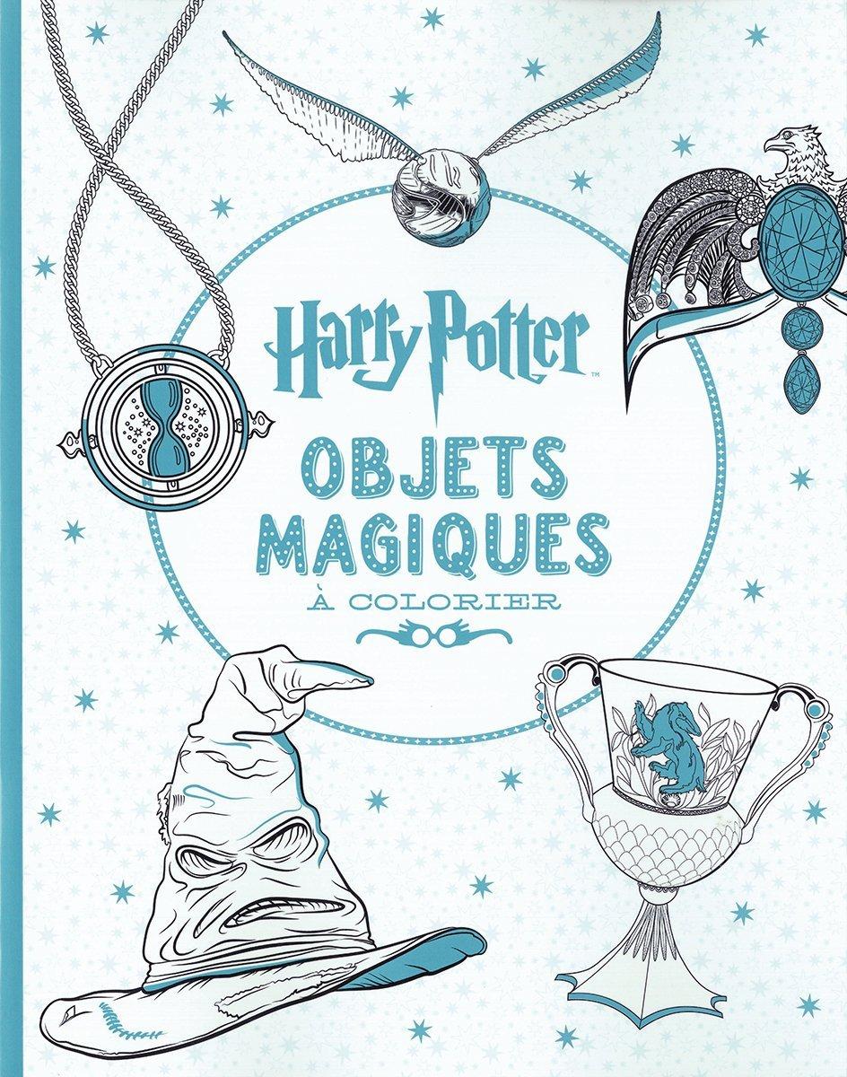 Harry Potter Le Livre De Coloriage N 4 Objets Magiques