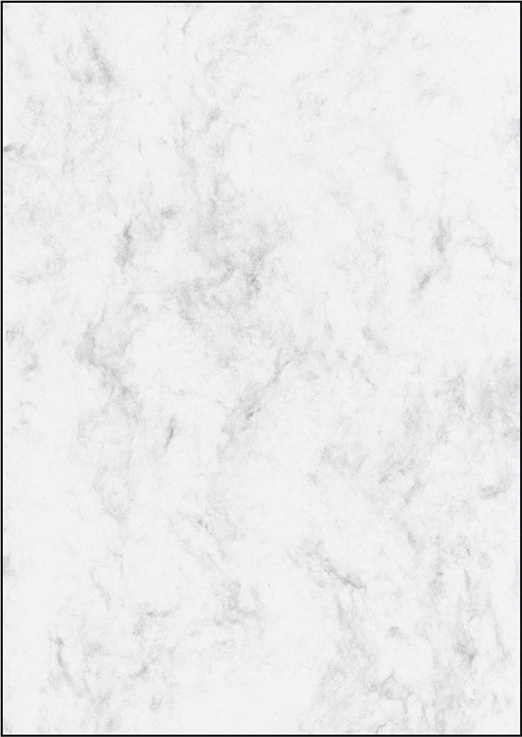 SIGEL DP639 Textured Writing Paper 90 GSM Double Sided Blue 100 Sheets Granite Motif A4